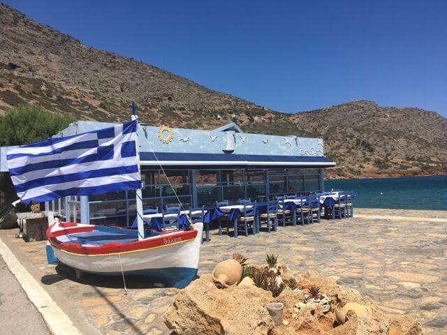 Plaka taverna Görögország