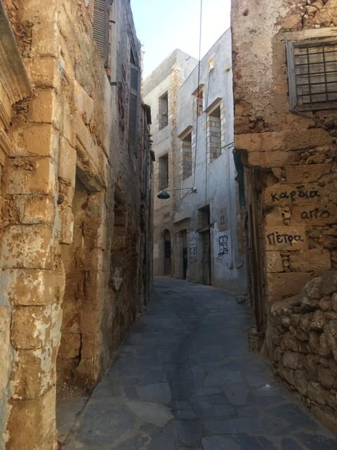 Chania utcák