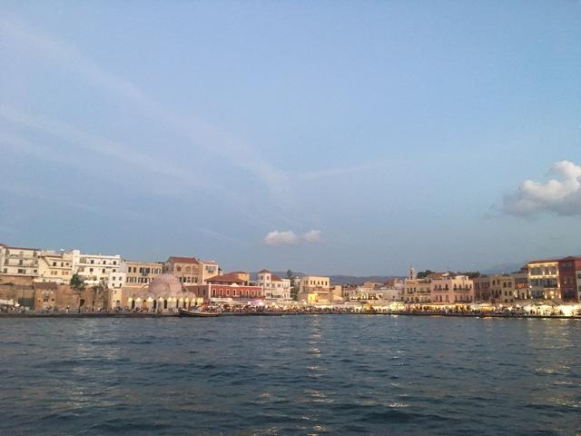 Kréta Chania kikötő