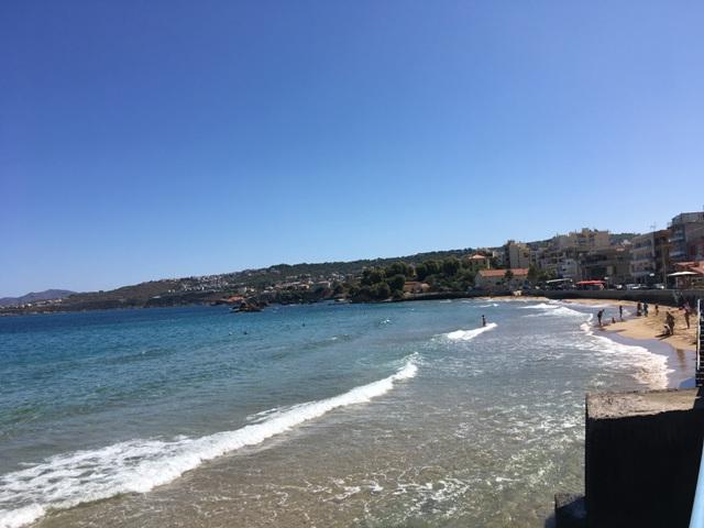 Kréta Chania strand