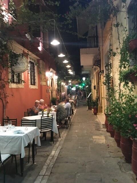 Kréta Rethymno étterem