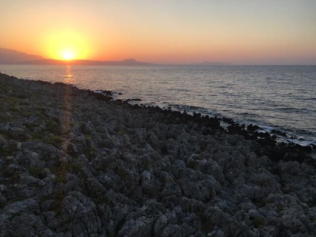 Rethymno naplemente