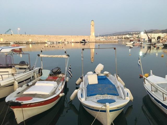 Rethymno old port
