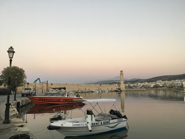 Rethymno régi kikötő