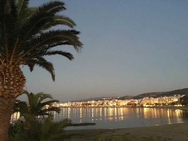 Rethymno tengerpart