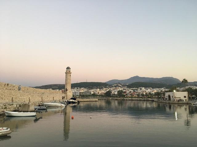 Rethymno világító torony