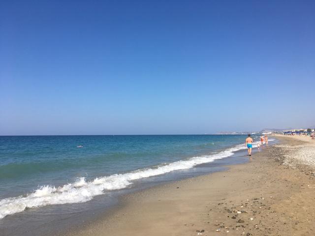 Tengerpart Rethymno Kréta