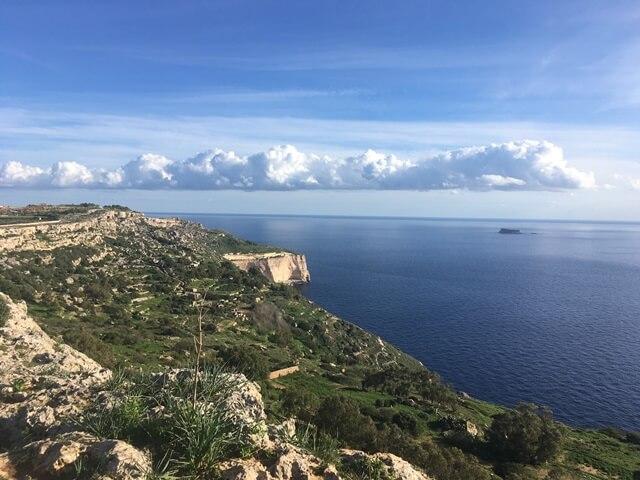 Málta Dingli Sziklák