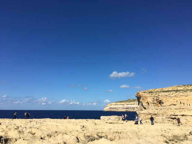 Málta Gozo Azur