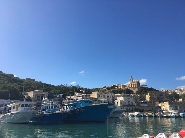 Málta Gozo hajó