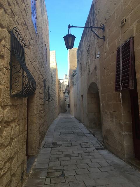 Málta nyelvtanulás Mdina