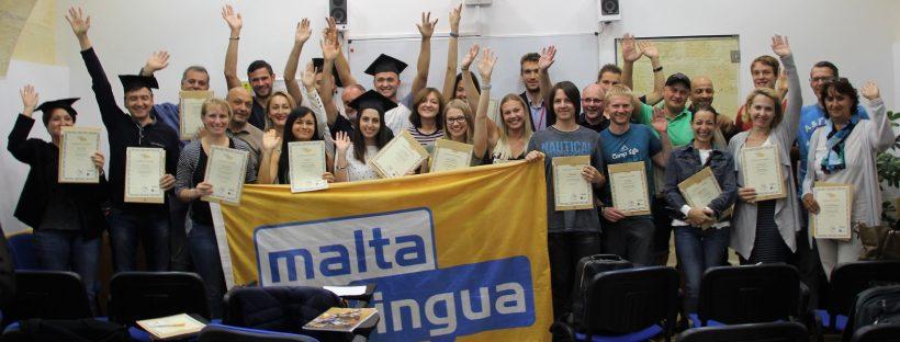 Maltalingua nyelviskola diplomaoszto