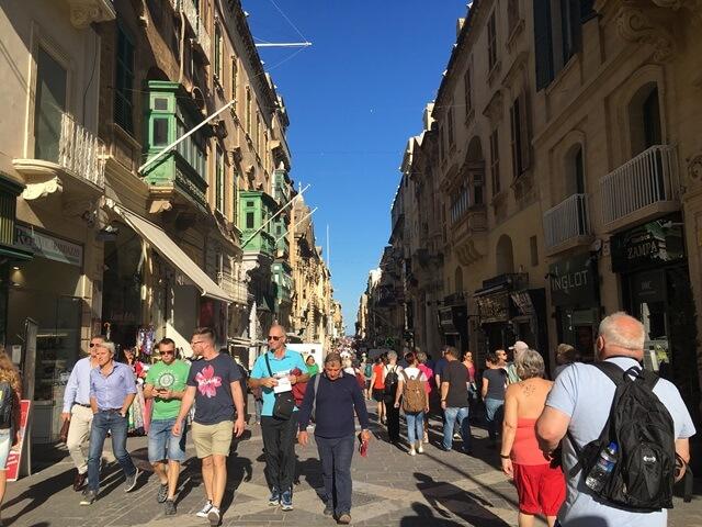 Valletta fő utca
