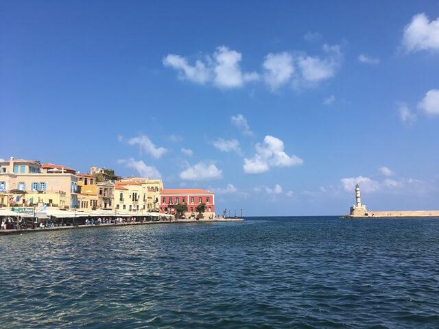 Chania kikötő