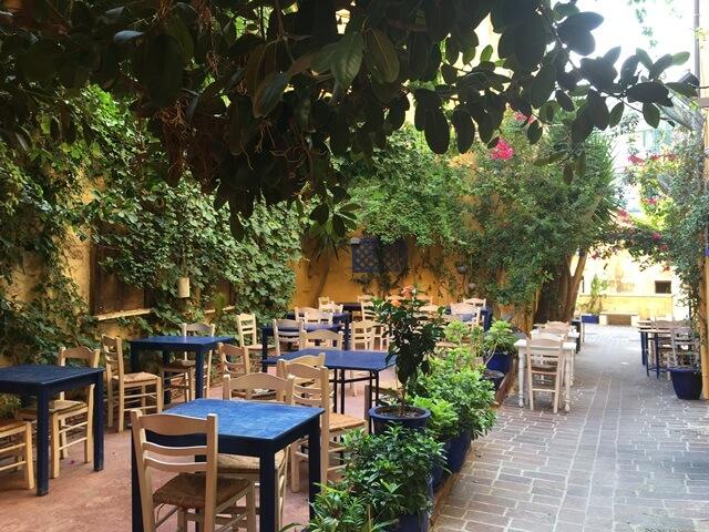 Chania taverna