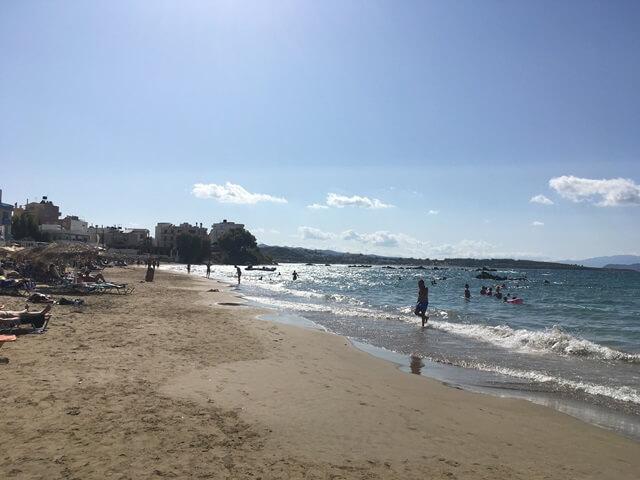 Chania strand
