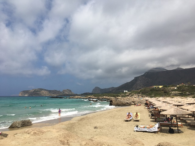 Falassarna Kréta strand