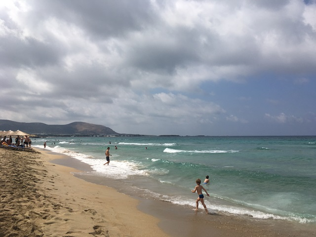 Falassarna strand Kréta