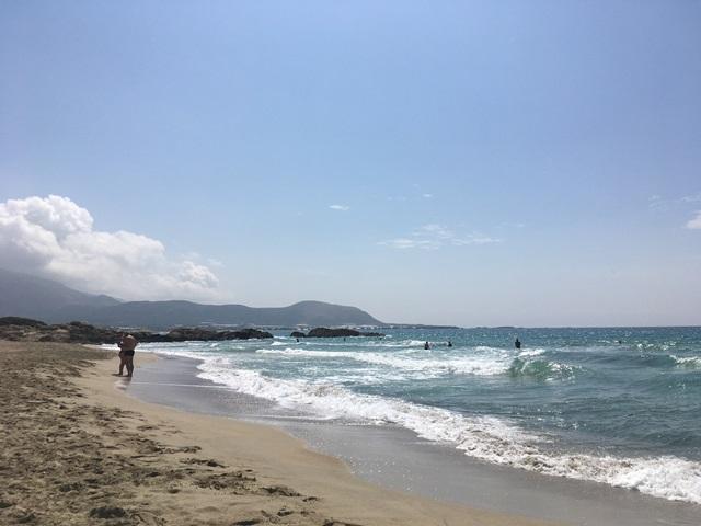 Falassarna strandolás