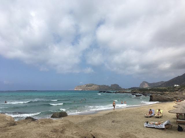 Kréta Falassarna strand