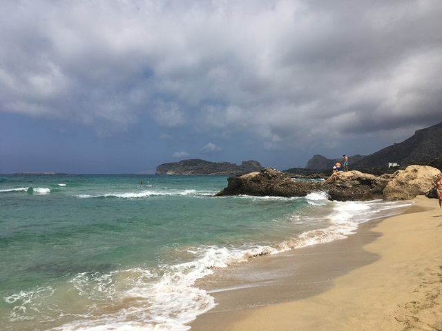 Kréta strand Falassarna