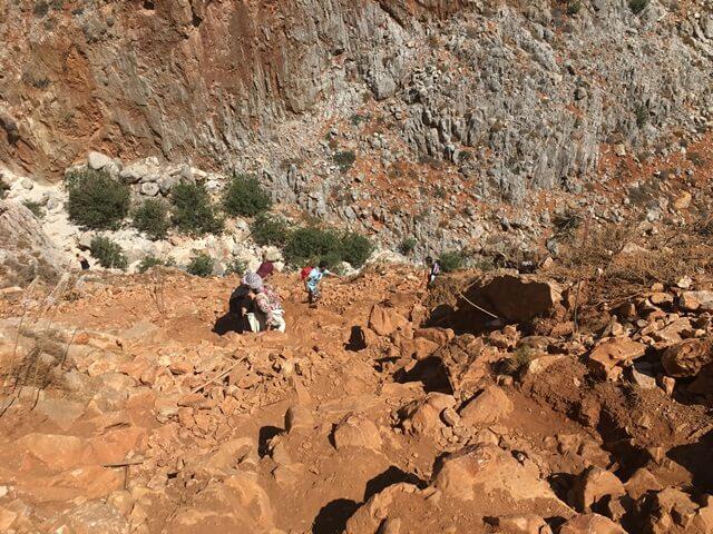 Seitan Limania hegymászás