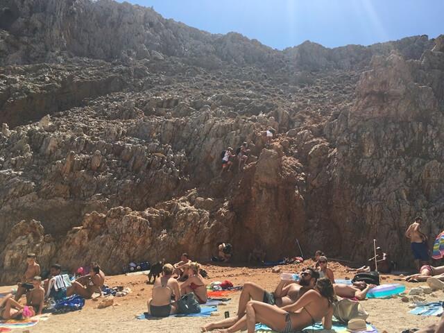Seitan Limania strand