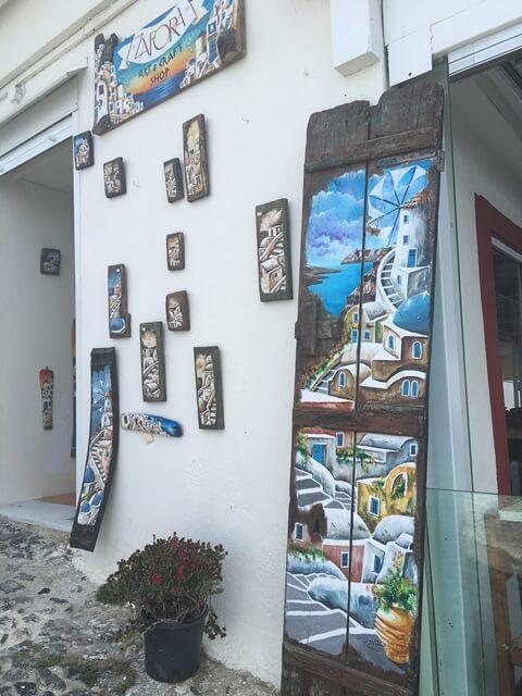 Kézműves Santorini