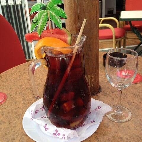 Mallorca cukormentes koktél
