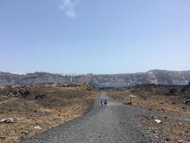 Nea Kameni vulkán