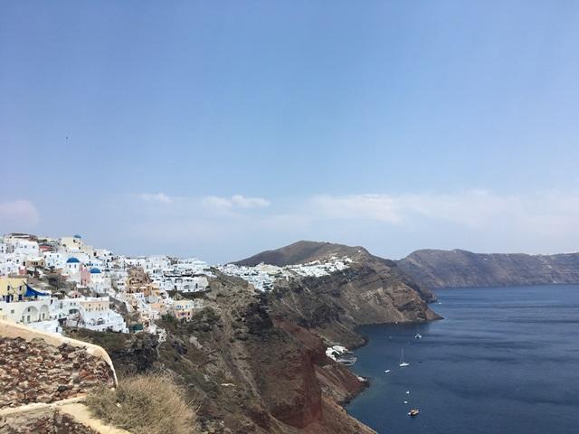 Oia Santorini kilátó