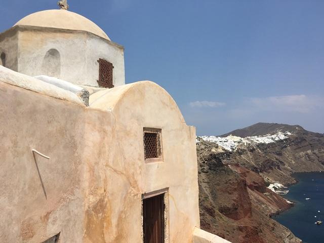 Oia vár és templom