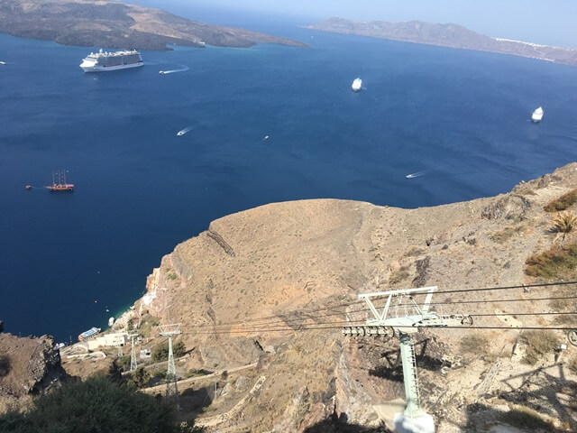 Santorini felvonó