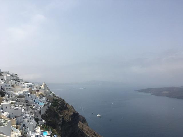 Santorini Fira séta