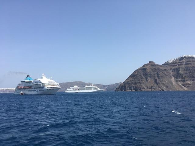 Santorini hajókirándulás