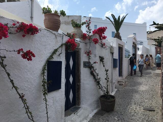 Santorini látnivalók