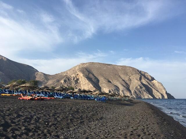 Santorini Perissa part