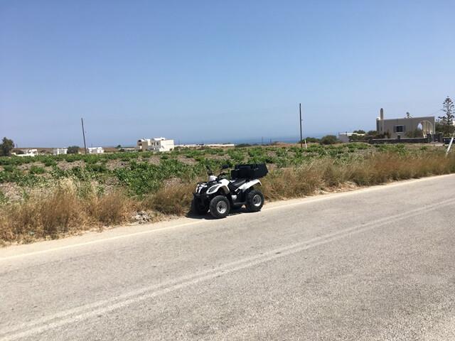 Santorini quad bérlés