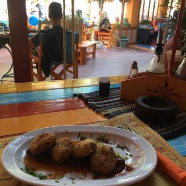 Santorini vegán étkezés