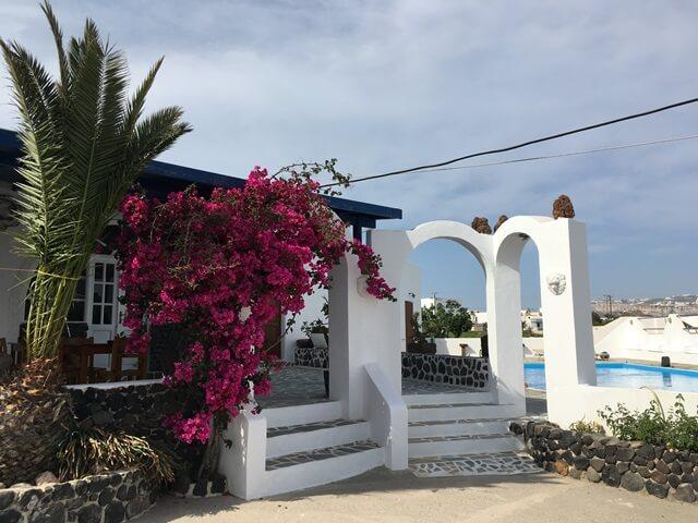 Szállás Santorini