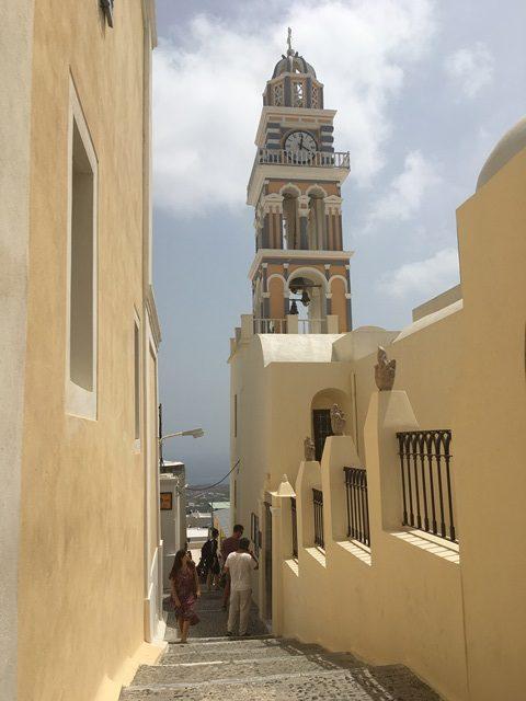 Szent János Baptista Katedrális Santorini