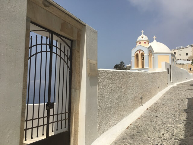 Szt. Stylianos templom Fira
