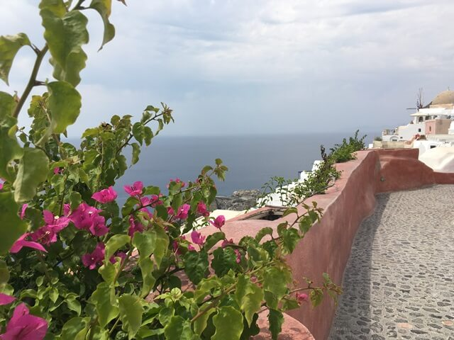 Útleírás Santorini