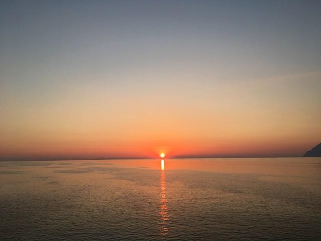 Görögország naplemente