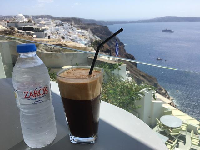Santorini kávézó