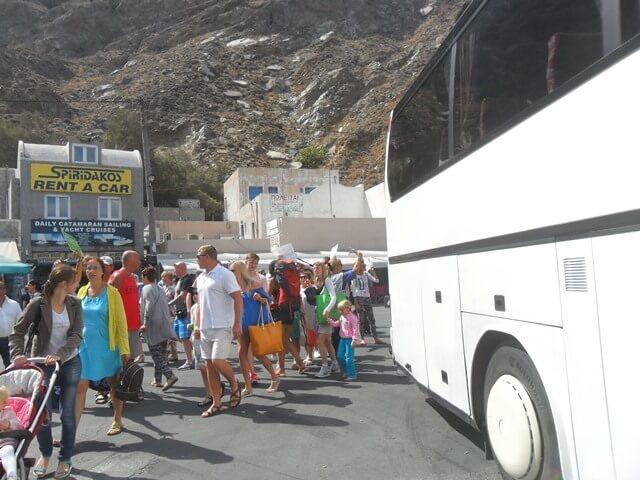 Santorini kirándulás