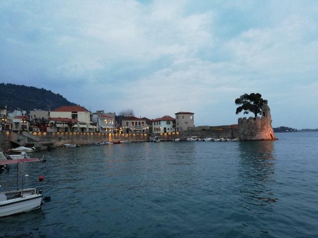 Velencei kikötő Nafpaktos