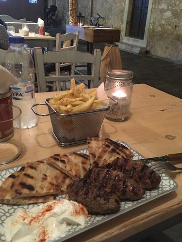 Vacsora Rethymno