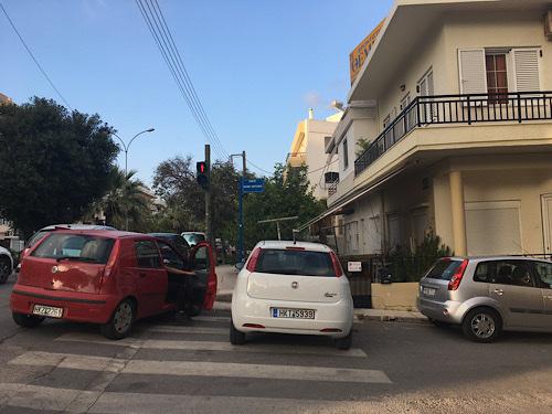 heraklion parkolás