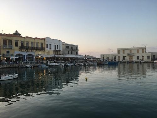 Rethymno kikötő